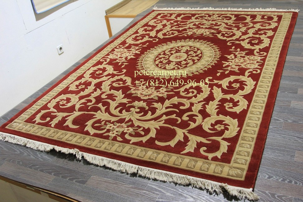 Woolen Machine-made carpets zy2336ma-red