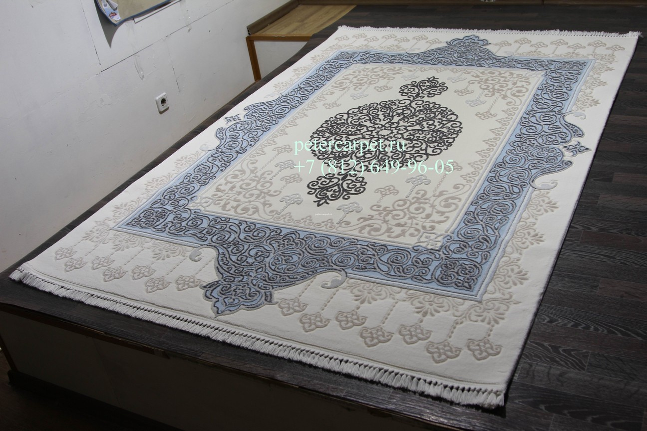 Safrane 3076B_WHITE-BLUE