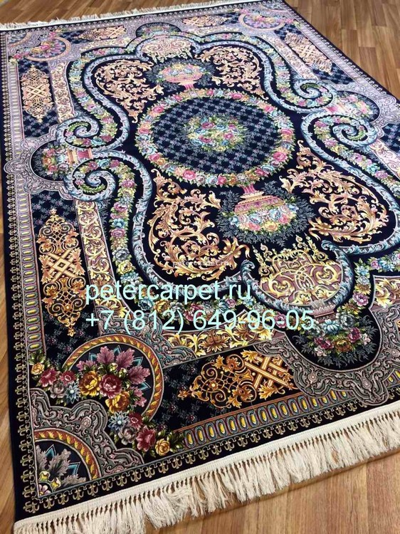KASHAN 5040_golden_dark_blue