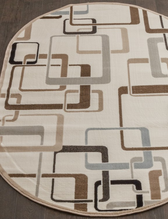 VALENCIA DELUXE d254-cream-brown-oval